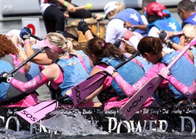 Save-our-sisters-miami-florida-dragon-boat-breast-cancer-awareness-non-profit-team-in-action